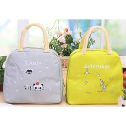 Quality Insulated Lunch Box Carry Bag Food Storage Outdoor P