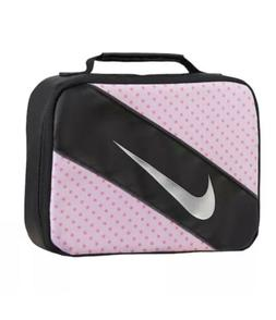 Nike Reflect Pink Dot Lunch Box/Bag Large Rectangular With I
