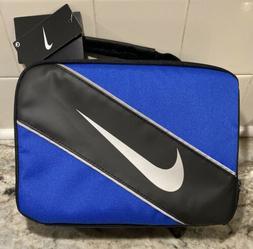 Nike Royal Blue Black Soft School Insulated Lunch Tote Bag B