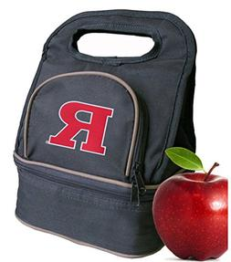 Rutgers University Lunch Bag RU Lunch Box - 2 Sections!