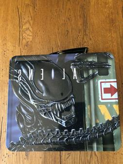 Aliens Tin Lunch Box with Thermos New