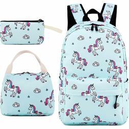 School Backpack for Girls Teens Bookbag Cute School Bag Set