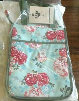 Pottery Barn school LUNCH BOX BAG Garden Party flower floral