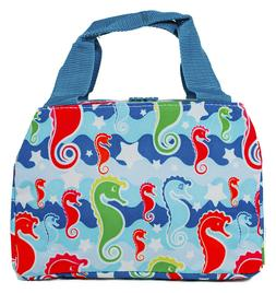 Sea Horse Thermal Insulated Lunch Box Cooler Bag Cute Teens