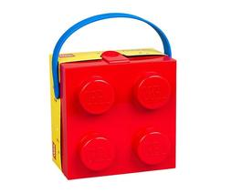 Lego Set 40240001 Lunch Box With Handle 4 Knob Kids Classic