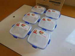 Set 6 Sistema Salad To Go 1.1L Lunch Box Food Container Remo