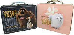 Set of 2 Lunchboxes Secret Life Of Pets Lunch Box. Dog, Bird