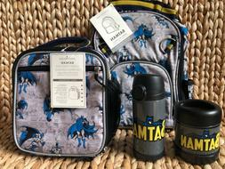 Pottery Barn Kids Small Backpack Water Bottle Lunch Box Ther