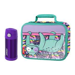 Thermos Soft Lunch Box with FUNtainer® 12oz Bottle, Sleepin