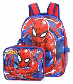 """Marvel Spiderman 16"""" Backpack with Detachable Lunch Box - 2"""
