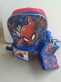 """Marvel Spiderman 16"""" Backpack with Detachable Lunch Box - 5"""