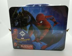 Spiderman Homecoming 48 Pc Puzzle In Lunch Box Metal Tin Mar
