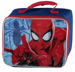 Marvel Spiderman Insulated Lunch Box Snack Carry Bag Little