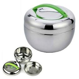 STAINLESS STEEL INSULATED LUNCH BOX 1 liter 30 oz Bento Tiff