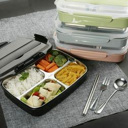Stainless Steel Thermal insulated Lunch Box Food Container f