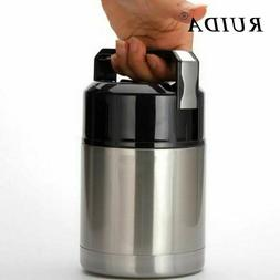 Stainless Steel Thermos Lunch Box For Hot Food With Containe