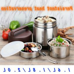 Stainless Steel Vacuum Hot Thermos Food Container Insulated