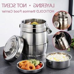 Stainless Steel Vacuum Insulated Lunch Box Thermos Soup Food
