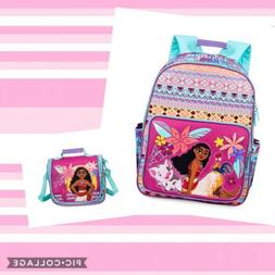 DISNEY STORE MOANA BACKPACK AND LUNCHBOX
