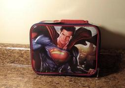 Thermos Superman Soft Sided LUNCH BOX Insulated School Suppl