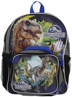 Jurassic World T-Rex Backpack with Lunch Bag