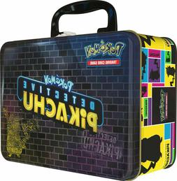 Pokemon TCG Detective Pikachu Collectors Chest Lunch Box 9 B