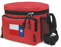 texas flag lunch bags