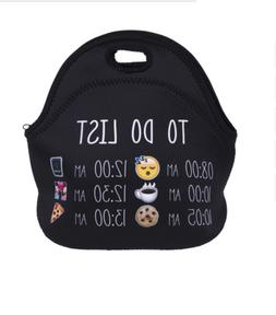 Thermal Insulated Lunch Bag Neoprene Lunch Box For Men Women