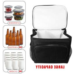 Thermos Cooler Insulated Lunch Bag For Women Men Kids Adults