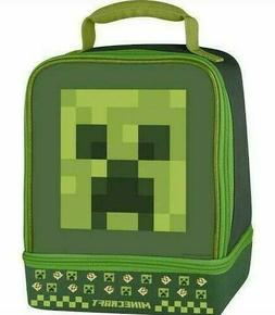 Minecraft Thermos Insulated Dual Lunch Kit