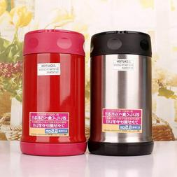 Thermos Vacuum Flasks Lunch Box For Hot Food 304 Stainless S