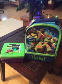 Thermos TMNT Lunch Box W/ Fit&Fresh Lunch Pod W/ Ice pack