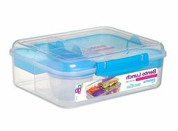 Sistema  Lunch Box To Go Collection Bento, Large 55.7 oz, Cl