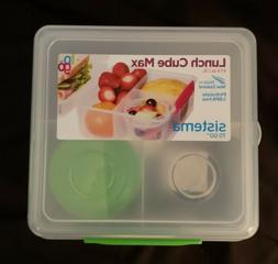Sistema To Go Lunch Box Cube Max 2 L w/ Yoghurt Pot Containe