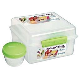 Sistema To Go Lunch Box Cube Max 2 L w/ Yoghurt Pot Containe
