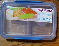 Sistema To Go Split Compartment Lunch Box  350 ml