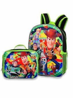 """Toy Story 4 - 16"""" Backpack with Detachable Matching Lunch Bo"""