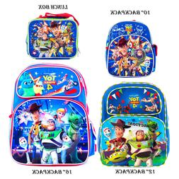Disney Toy Story 4 Backpack and Lunch Box Combo set School B