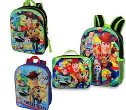 Disney Toy Story 4 Boys School Backpack Lunch box Book Bag S