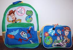 DISNEY TOY STORY 4 LARGE BACKPACK AND LUNCH BOX NEW WITH TAG