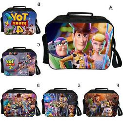 Toy Story 4 Woody Forky Kids Lunch box School Bag Lunch  Ins