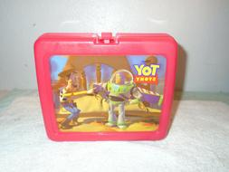 Toy Story Lunch Box With Green Army Men Thermos Buzz Woody D