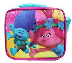 Dreamworks Trolls Insulated Lunch Bag Box Back to School For