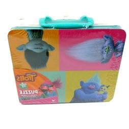 Trolls Puzzle 24 Piece Lunch Box Tin by Cardinal Dreamworks