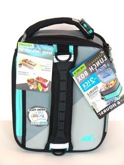 """Ultra Arctic Zone Expandable """"GRAY"""" Bento Lunch Box  Contain"""