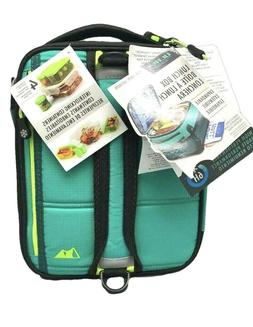 Arctic Zone Ultra Expandable Lunch Box - Teal - NEW!