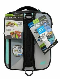 ultra expandable lunch box w 2 ice