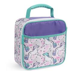 Arctic Zone Unicorn Insulated Lunch Box Food Container, Bott