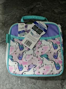 Arctic Zone Unicorn Insulated Lunch Box With Food Container,