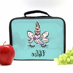 Unicorn Lunch Box, Personalized Lunch Bag for Girls, Custom